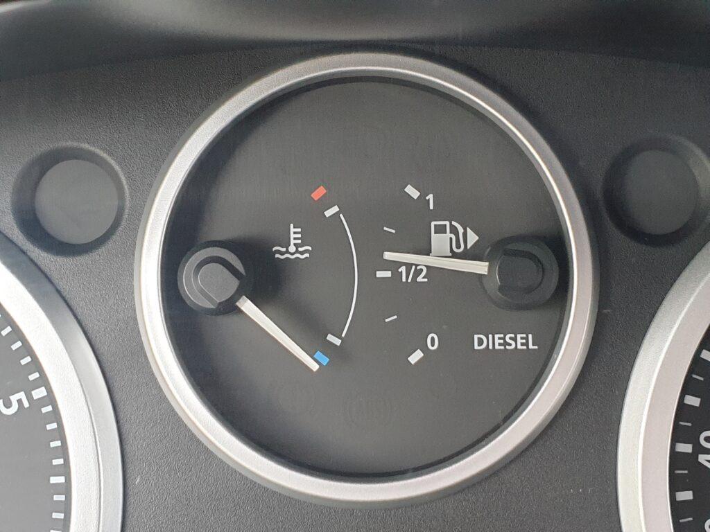 Bak auta zatankowany zawsze minimum dopołowy