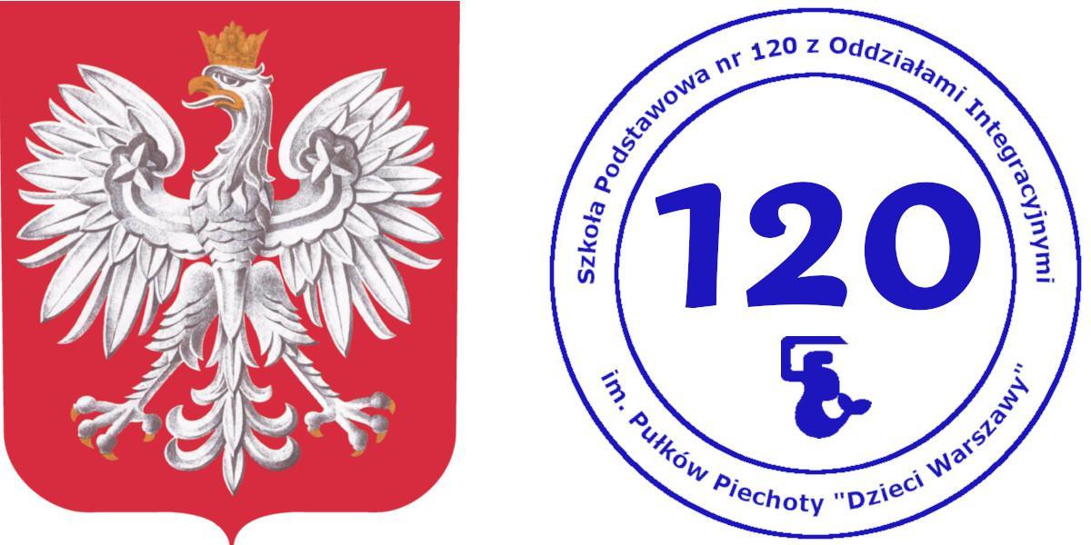 """Szkoła Podstawowa nr120 zoddziałami integracyjnymi im.Pułków Piechoty """"DZIECI WARSZAWY"""""""