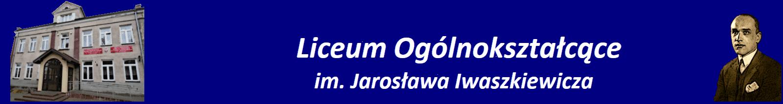 Liceum Ogólnokształcące im.Jarosława Iwaszkiewicza w Nasielsku