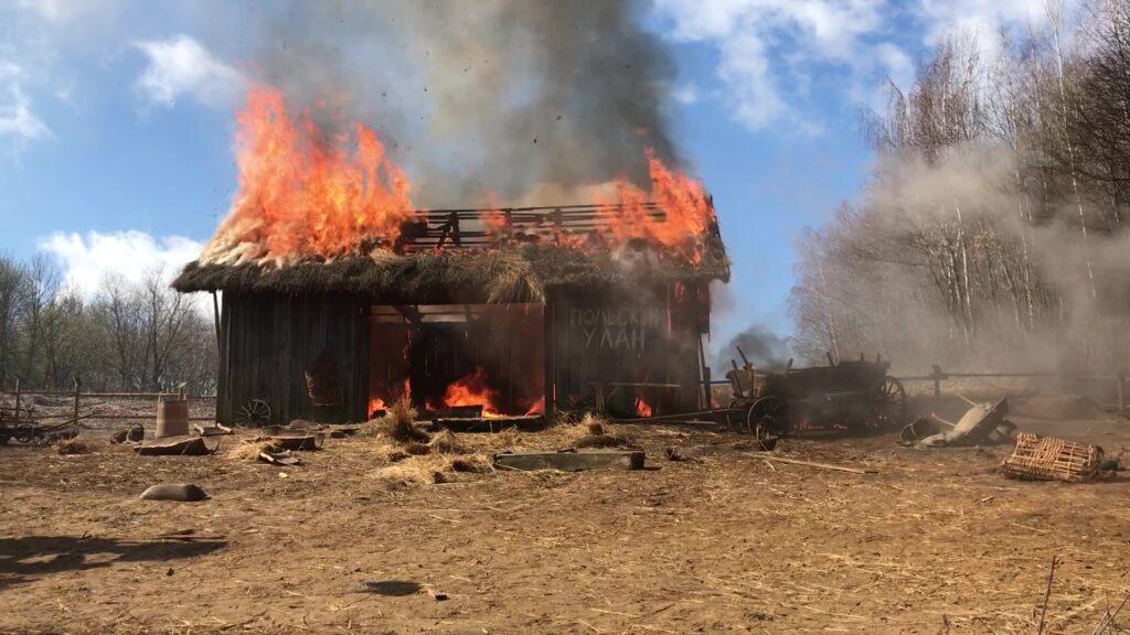 Pożary domów